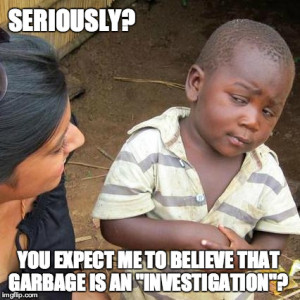 garbage investigation